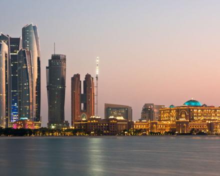 Abu Dhabi by Evening