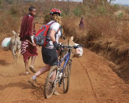 Mountain Bike-avontuur rond de Kilimanjaro in Tanzania