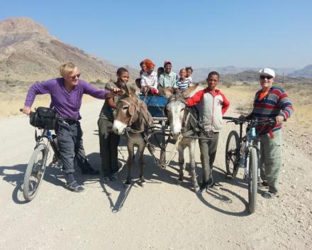 Ontdek de hoogtepunten van Namibië in 18 dagen per fiets