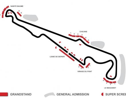 Map Circuit Le Casselet
