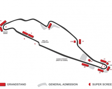 Map F1 Canada
