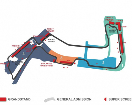 Plan Singapore Race