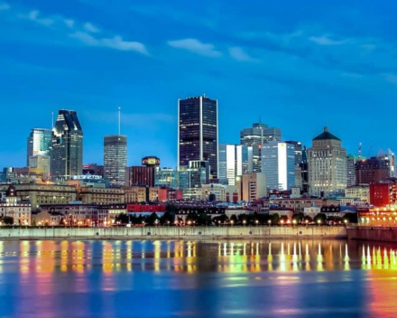 Skyline Montreal by Evening