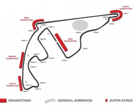 Formule 1 Grand Prix van Abu Dhabi