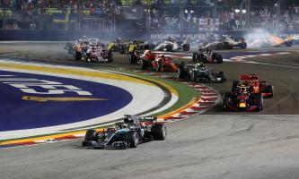 F1 Grand Prix van Singapore
