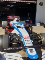 F1 Wagen Pitlane
