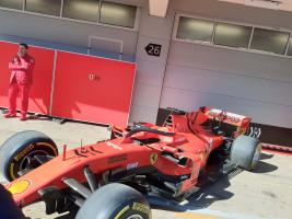 Ferrari Pitlane F1