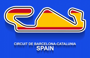 Formule 1 de Barcelone Espagne