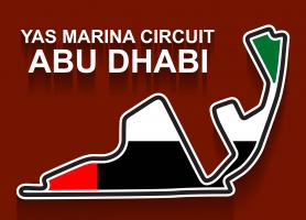 Formule 1 race Abu Dhabi Yas Marina