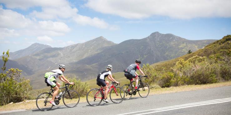 Fietstocht langs de Tuinroute naar Kaapstad in 18 dagen