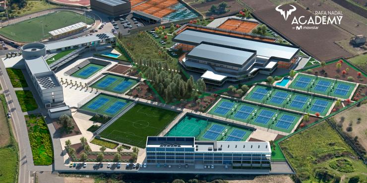 Tennisvakantie Rafa Nadal Tennis Academy (Mallorca)