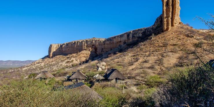 Fietstocht naar het noorden van Namibië in 14 dagen